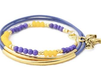 Gold Bracelet, Leather Bracelets, Gold Bangles, Elephant Charm Bracelets, Good Luck Bracelets, Friendship Bracelet, Bracelet sets, Bangles