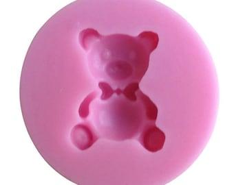 silicone mould Teddy bear