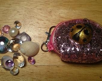 Ladybug change purse