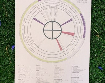 Liturgical Calendar Poster