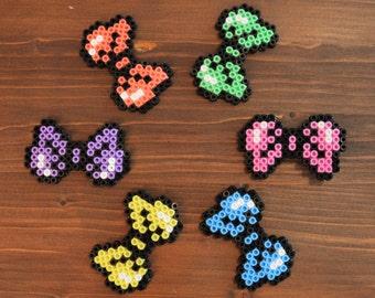 Pastel Pixel Hairbow