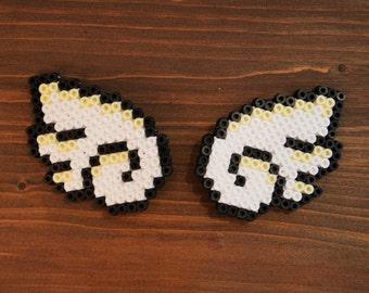 Pixel Wings Hairclips (pair)