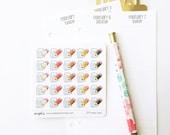 074 planner stickers : take note / school / study