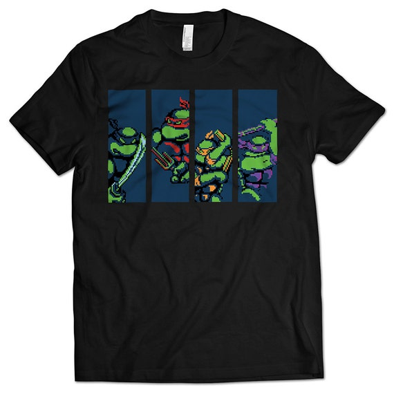 Teenage Mutant Ninja Turtles Nes T Shirt