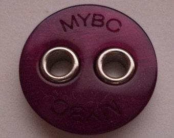 12 purple buttons 18mm (1437) button