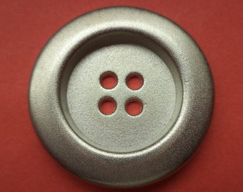 27 mm (4712) metal button buttons 8 metal buttons silver