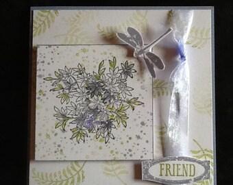 Blank Friend Card