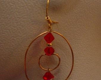 Hoop Earrings 14K gold filled*