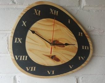 Pine Wooden Clocks