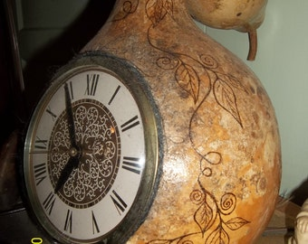Hey Gordo... what time is it?  Gourd Clock