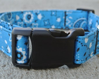"Blue Bandana- The ""Crash"" Collar"