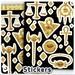Millennium Items - Sticker Sheet