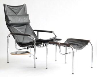 Hans Eichenberger Lounge Chair and Ottoman