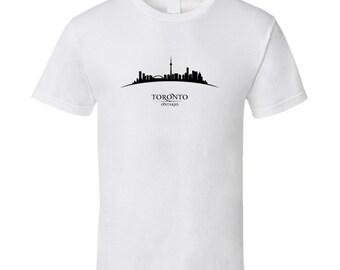 Toronto Ontario Cityscape Downtown Skyline T-shirt
