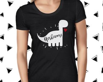 Vegan Shirt - Cute Vegan T-shirt - Funny Vegan Tshirt - Cute Vegan Tee - Cute Plant Tee - Herbivore T Shirt - Vegetarian Tee - Plant Based T
