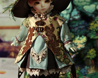 Little botanist,Dress set for YOSD or AI-ange(1/6 BJD),in stock