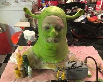 Green Ogre Make up for Theater! Shrek