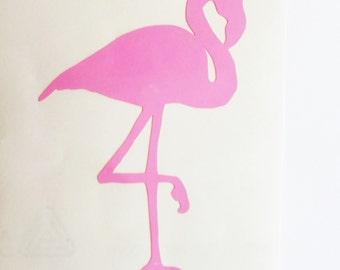 Flamingo decal Flamingo sticker Bird decal Vinyl Sticker MacBook decal Bird sticker Wall decal Wall sticker