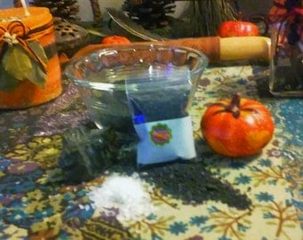Ritual Black Salt/ Witch's Salt/ Apothecary/ Spell Ingredient
