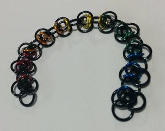 Rainbow Orbital Bracelet