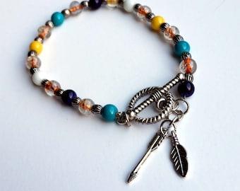 Multi-color Arrow Bracelet