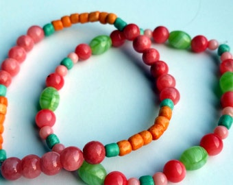 Rainbow Sherbet Bracelet