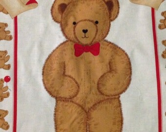 A Bear For All Seasons, wall hanging