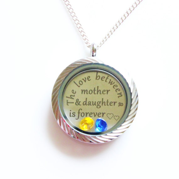 Gifts Mom from Daughter, Mother and Daughter Necklace, Mother and ...
