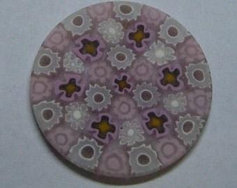 Murrine Millefiore Murrini Millefiori Murano 26 mm. Rose Venice Murano Glass Original do-it-yourself