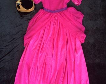 Princess Bubblegum Dress and Crown