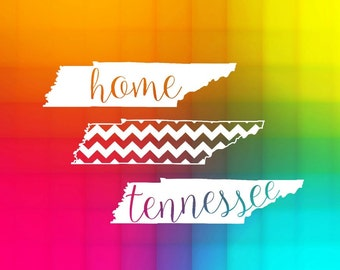 tennessee state SVG and studio home outline shape, Cut File for Silhouette and Cricut machines, instant download, digital files, scal files