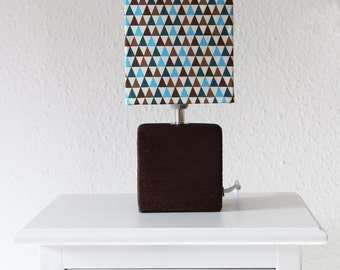 "Unique table lamp bedside lamp ""Tri-Style"""