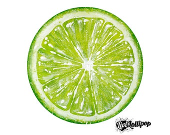 Lime green wall art etsy for Lime green wall art