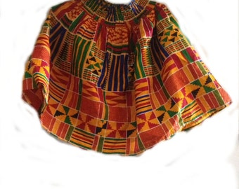 Beautiful And Colorful Skirt, From Africa
