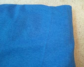 Medium Blue Rayon Jersey Knit