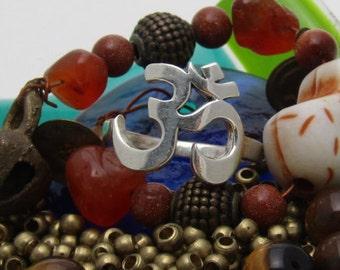 Namaste Aum (Om) Ring