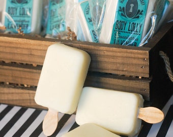 Solid body lotion: Eucalyptus Lavender Body Lolly