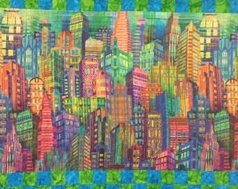 City Skyline Quilt