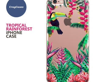 Tropical iPhone Case, Tropical iPhone 6s Plus Case, Tropical iPhone 7 Case, Tropical iPhone 6+ Case (Shipped From UK)