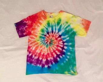 Classic Rainbow Tie-Dye Shirt