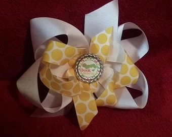 Back to School Hairbow