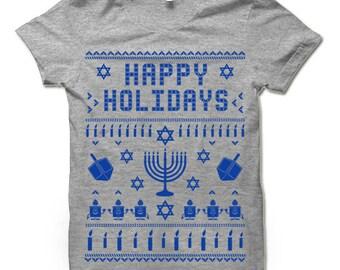 Hannukah T Shirt. Hannukah Gift. Ugly Hannukah Tee Shirt.