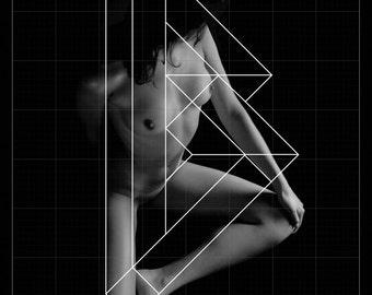SERIGRAPHY BODYFONT - LETTER B-