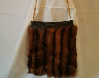 Mink Cross Body Bag