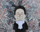 Ruth Bader Ginsburg Ornament - READY TO SHIP!