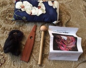 Brand new, never used Leopardwood Rakestraw Spinner-Includes instruction book and padded zipper storage bag