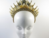 Citrine Golden Blade - Headpiece - by Loschy Designs