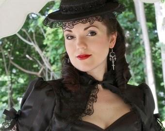 Belladonna Gothic Puffed Sleeve Bolero Shrug