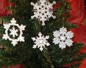 Snowflake Ornament Collection Combo