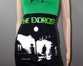 The Exorcist Horror Movie Tank Top Shirt Dress
